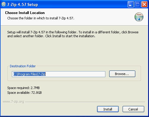 How to Split Large File Using 7-Zip - Linglom com