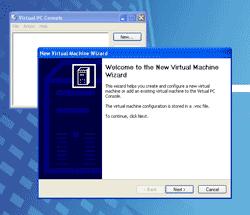 New Virtual Machine Wizard