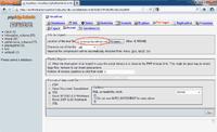 Select a backup file