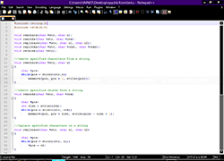 Notepad++ - Default Theme
