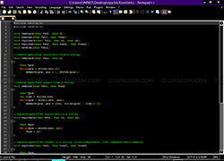 Notepad++ - Deep Black Theme