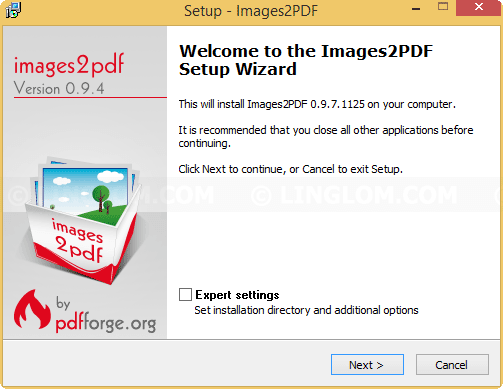 how to export several tif files as one pdf