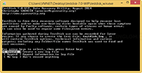 TestDisk - Create new log file
