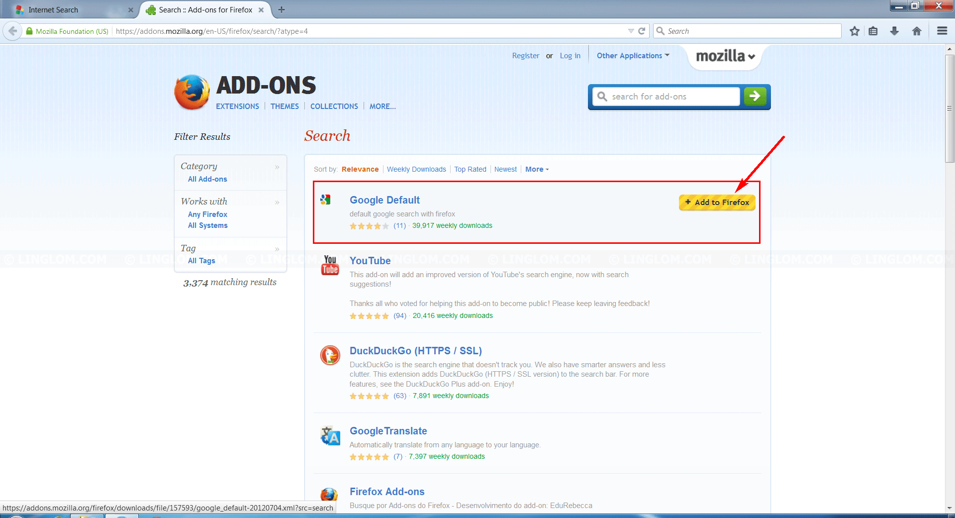 Search results – Add-ons for Firefox (en-US)