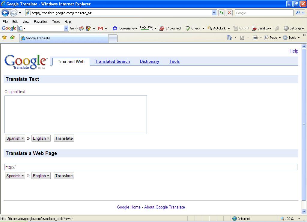 how to surf blocked website using googlecom linglomcom