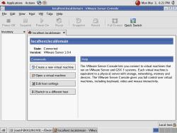 VMWare Server Console