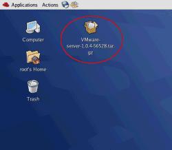 VMWare Server for Linux installation file