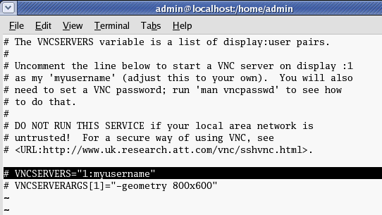 Enable remote desktop on Linux using VNC - Linglom com