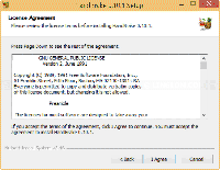 HandBrake Setup - License Agreement
