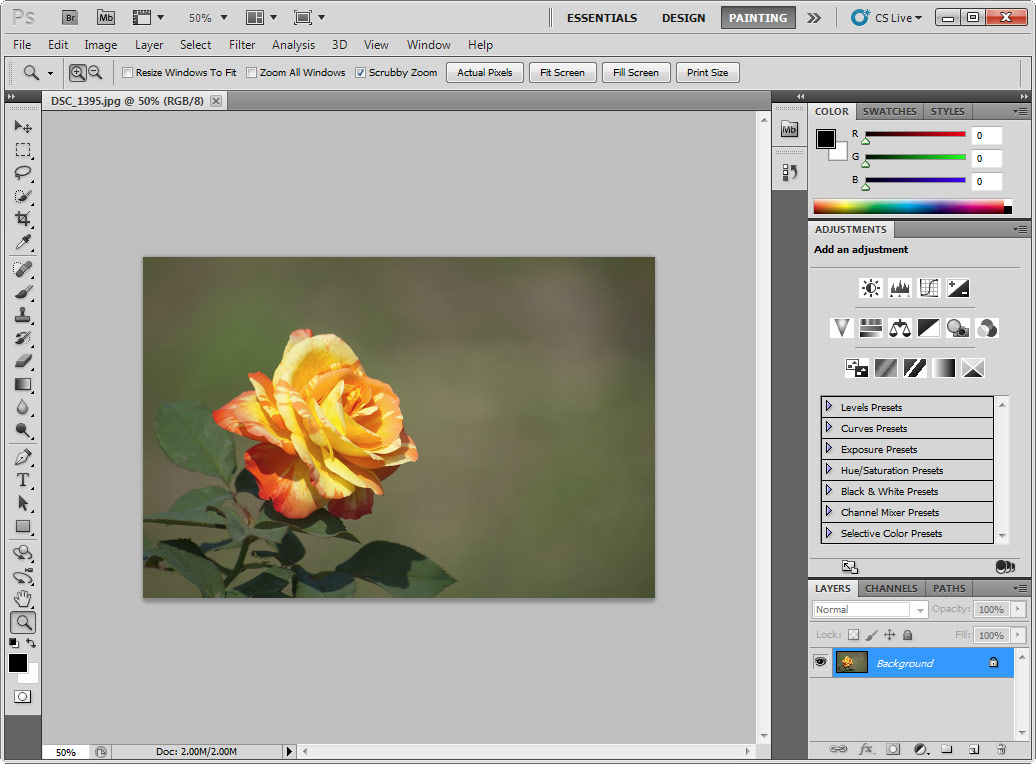 how to create a watermark image