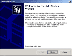 Add Nodes Wizard