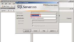 Connect to MS SQL Server cluster