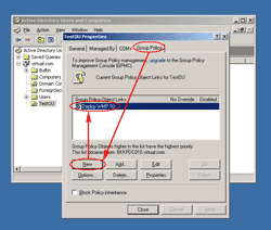 Create a new Group Policy