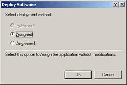 Deploy Method - Assigned