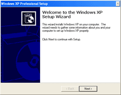 Windows XP Professional Setup