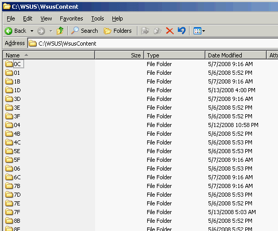 how to find a wsus server on the network