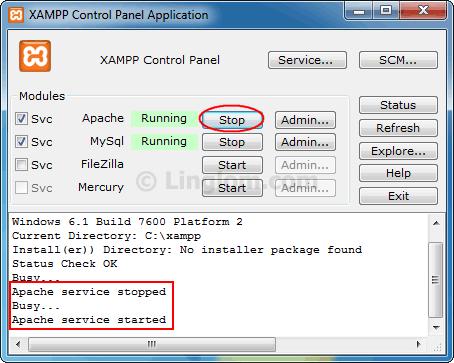 Enable cURL on XAMPP - Linglom com