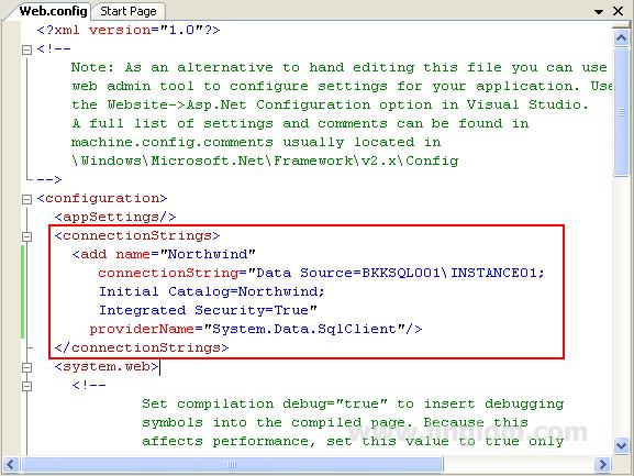 Accessing Sql Server On Asp Net Using Ado Net Linglom Com