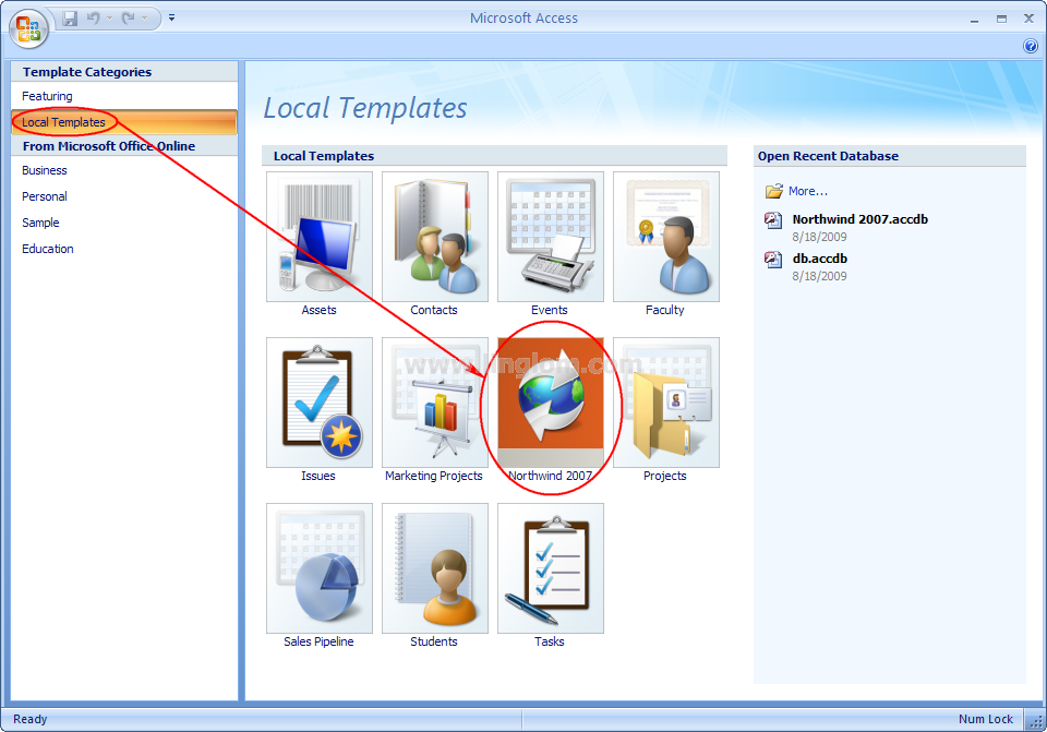 northwind 2007 on local templates download northwind template for access 2007 from microsoft