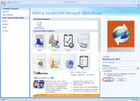 Create sample Northwind database for Microsoft Access 2007