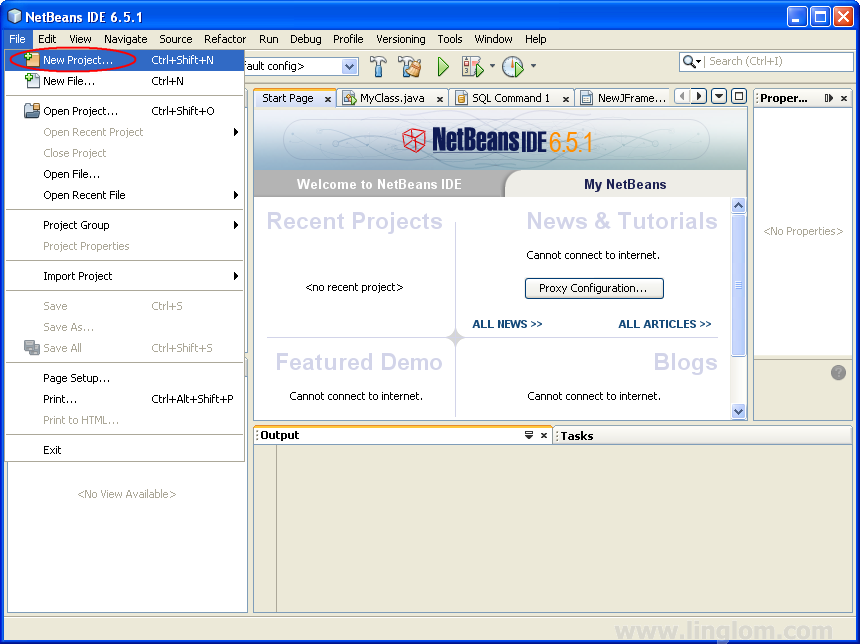 Accessing Access 2007 on NetBeans 6 5 using JDBC, Part 3