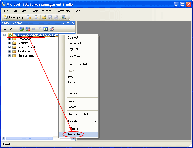 Enable Remote Connection on SQL Server 2008 Express