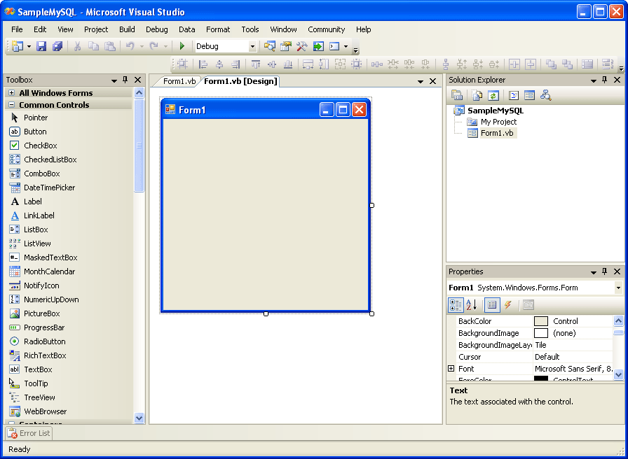 Accessing MySQL on VB NET, Part 8: Display Result on GUI