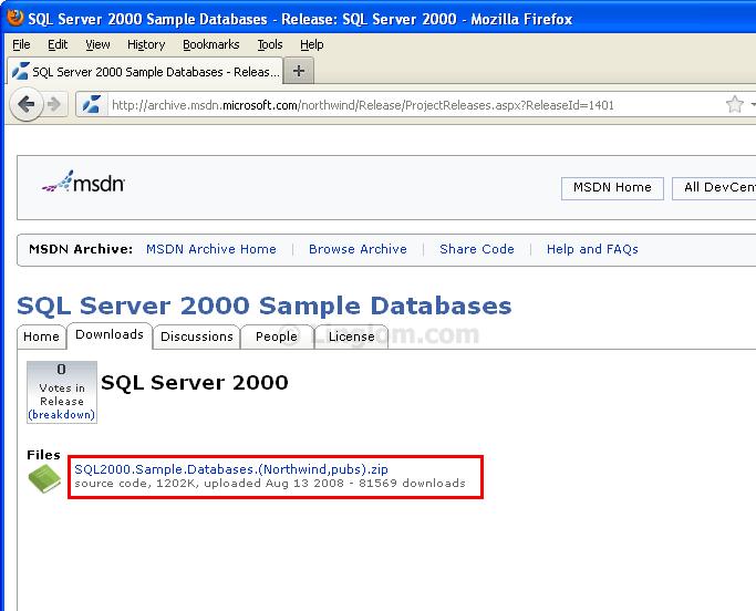 Install Sample Databases in SQL Server 2008 Express - Linglom com