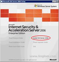 Microsoft ISA Server 2006 Auto-run Setup