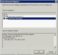 Select Network Adapters