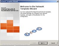 Network Template Wizard