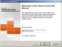 Set Access Rule Name