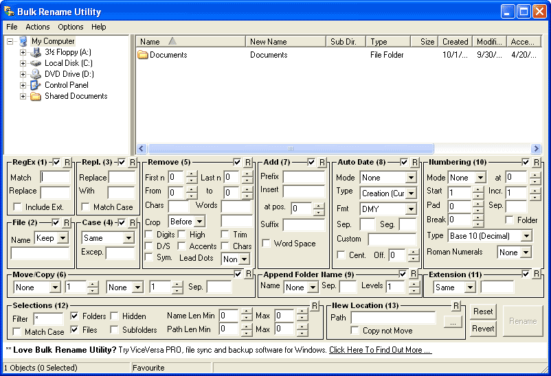 How to Batch Rename Files or Folders Using Bulk Rename Utility