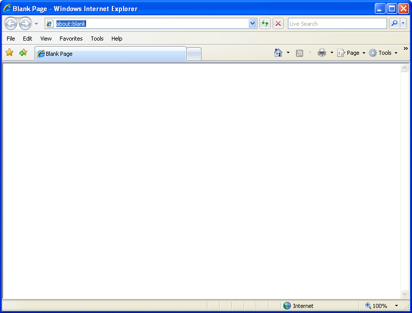 how to open internet explorer from run in windows 7