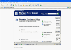 Remote Desktop through web browser