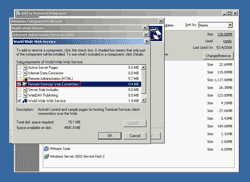 Select Remote Desktop Web Connection