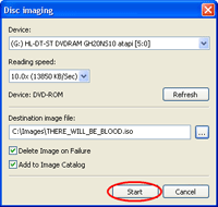 Start Create an ISO Image