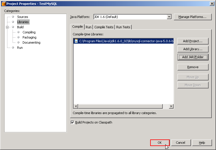 Accessing MySQL on NetBeans using JDBC, Part 1: Create a connection
