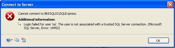 Enable remote connection to SQL Server 2005 Express