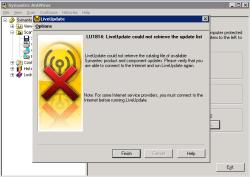 LU1814: LiveUpdate could not retrive the update list
