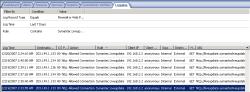 Observe log on ISA Server
