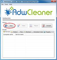 AdwCleaner - Scan