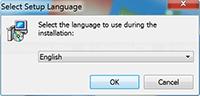 Malwarebytes Anti-Malware Installation - Select Setup Language