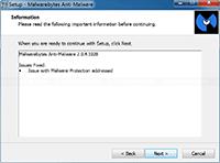 Malwarebytes Anti-Malware Installation - Information