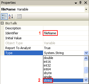 Change variable's type
