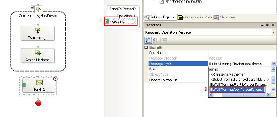 Change message type