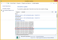 Uninstall Windows 8.1 Update KB2995388