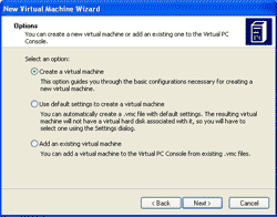 Create a virtual machine