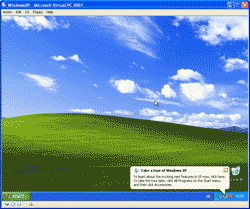 Finishes install Windows XP