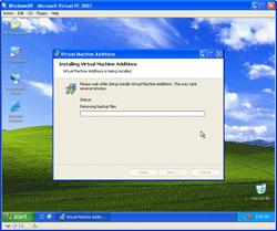 Installing Virtual Machine Additions